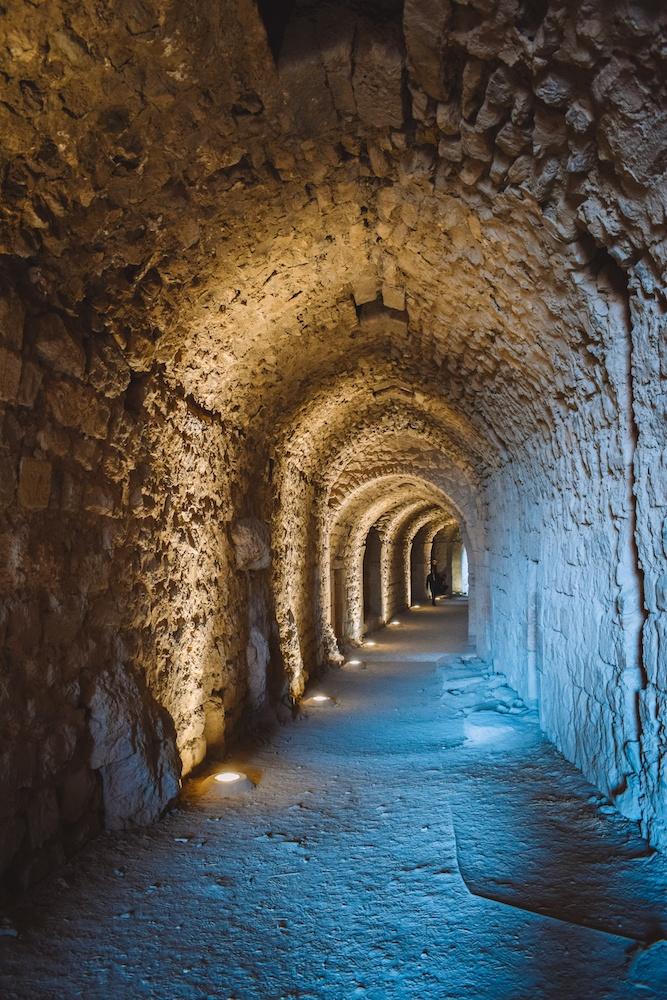 Inside Kerak Castle, Jordan