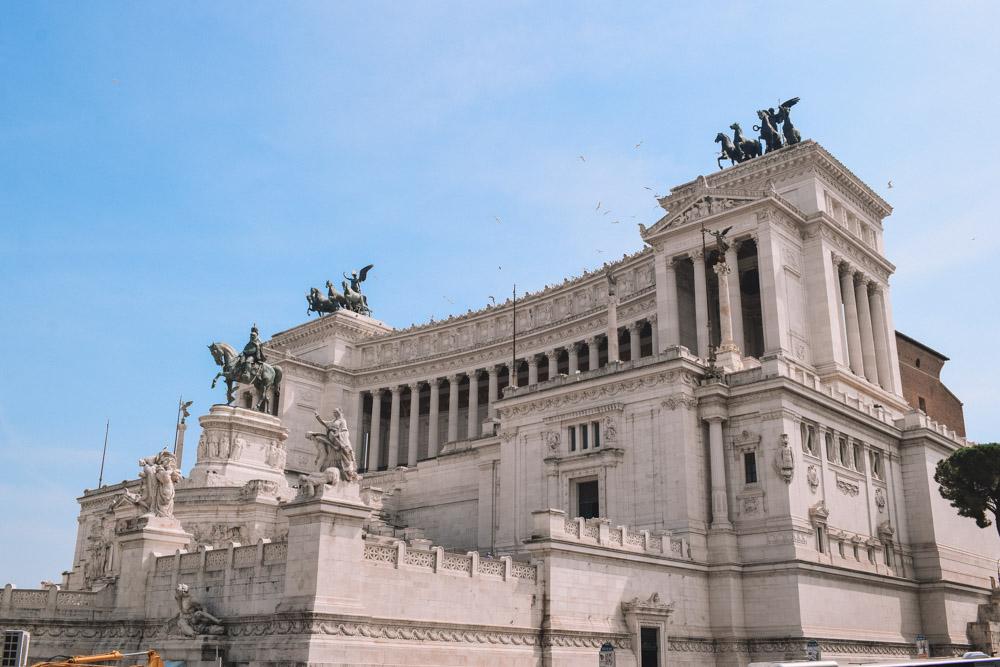The famous Altare della Patria in Rome