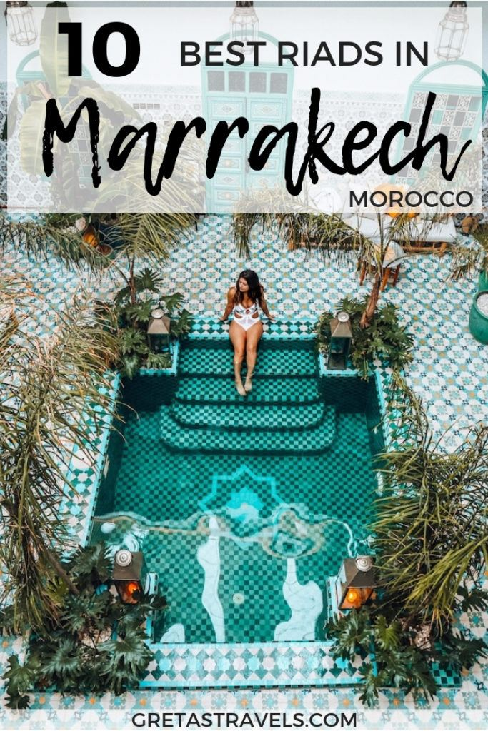 Riads are the traditional Moroccan homes. If you're planning a trip to Marrakech you have to stay in a riad, instead of a hotel, for a true Moroccan experience. Discover the best riads in Marrakech for every budget with this Marrakech riad guide. #marrakech #Morocco #riad #bestriadinmarrakech #africa #traveladvice