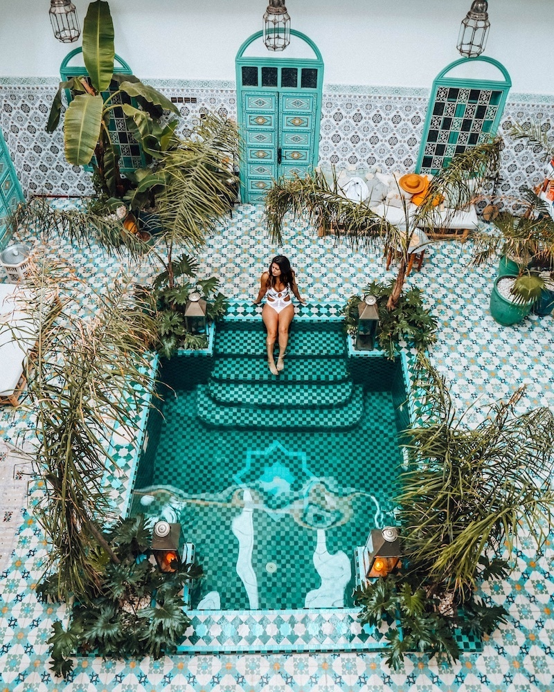 Riad BE Marrakech, photo by Jaleh Michelle