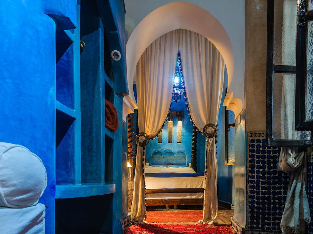 Riad Mur Akush in Marrakech, photo by Surfing The Planet
