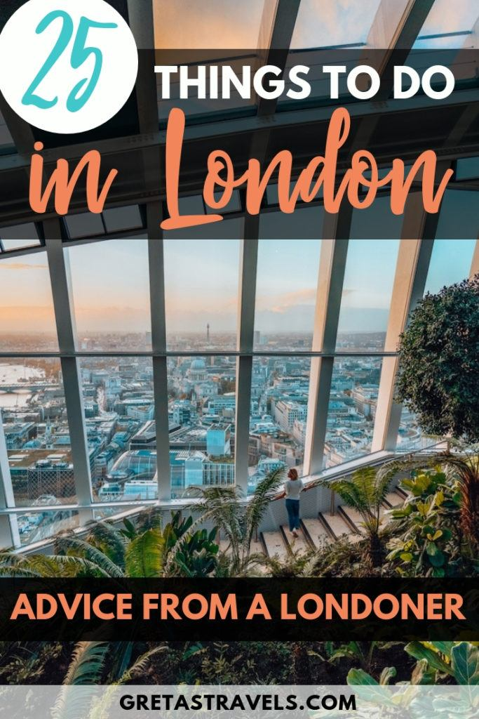 25 things to do in London in 2 days