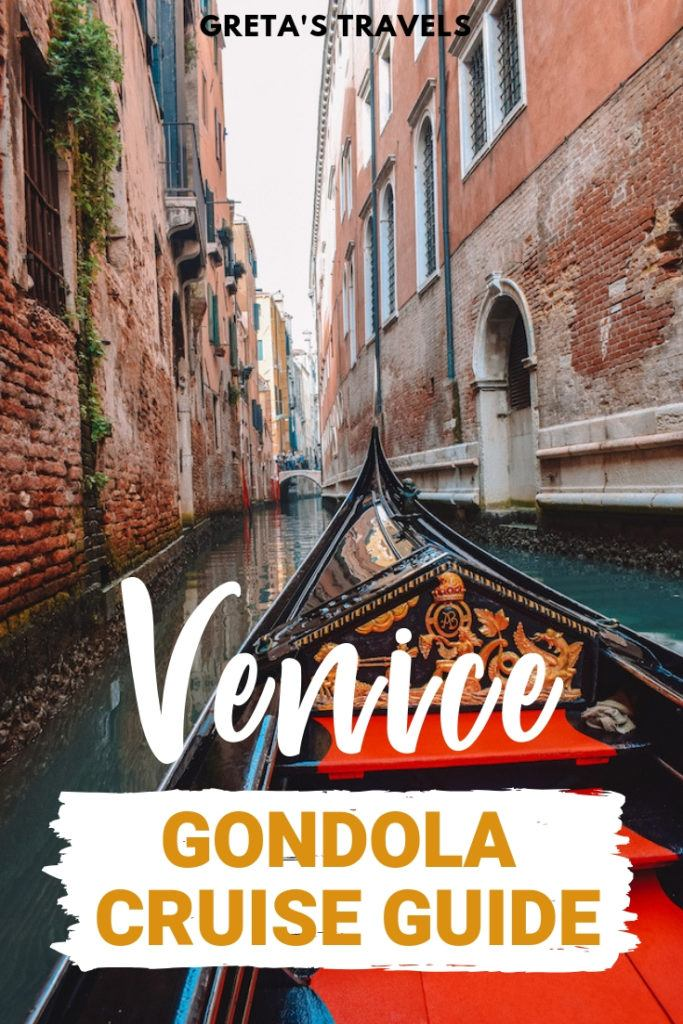 If you're planning a trip to Venice you're most likely planning to do a gondola cruise in the canals, after all its one of the most traditional Venetian experiences! Find out everything you need to know about doing a gondola ride in Venice with this ultimate guide. #venice #italy #gondola #gondolacruise #gondolaride #travel #traveltips #italytraveltips #venicetraveltips
