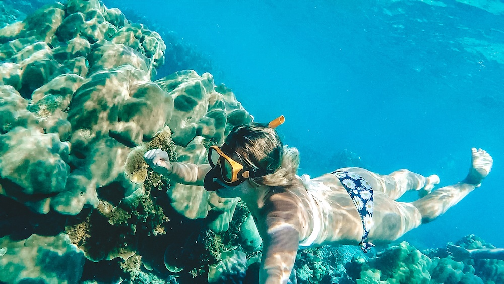 Snorkelling in the Surin Islands, Thailand