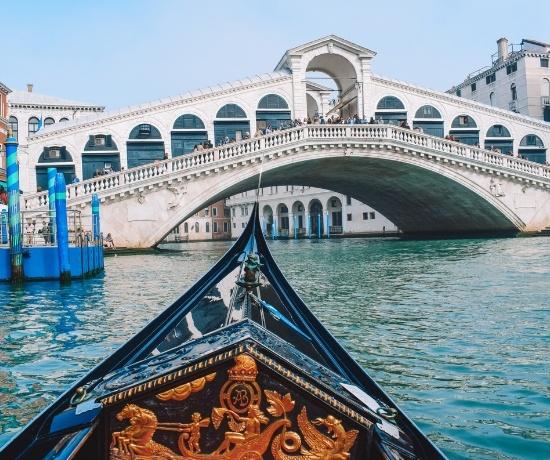 Gondola ride Venice