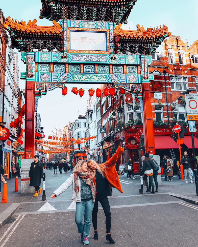 Exploring Chinatown in London - one of the best areas to stay in London