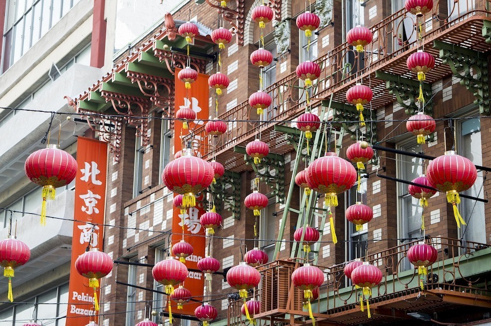 Chinatown in San Francisco, a must see in any San Francisco 2-day itinerary