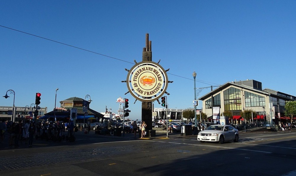 Fishermans Wharf in San Francisco, a must see in any San Francisco weekend itinerary