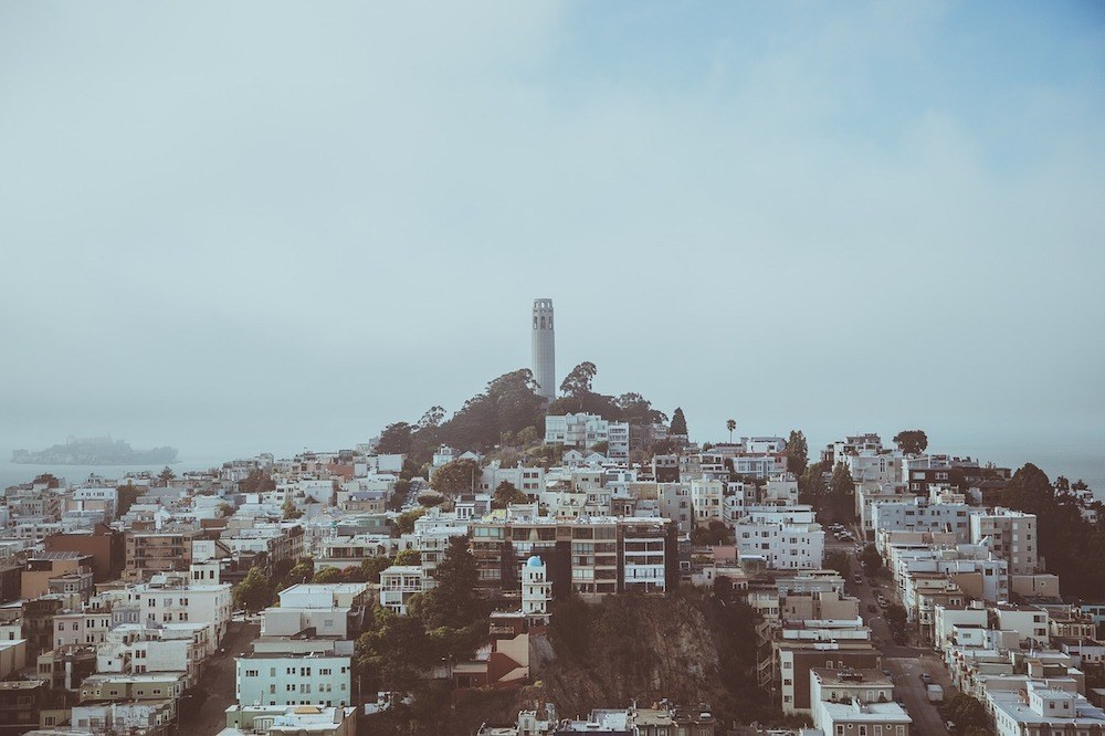 North Beach Neighbourhood in San Francisco