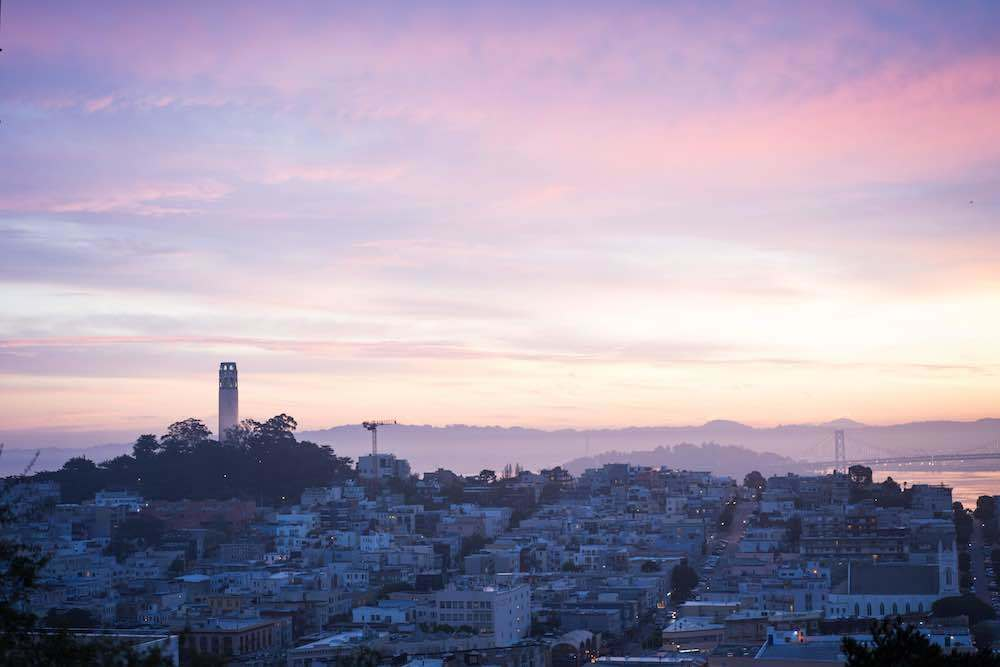 North Beach and Coit Tower in San Francisco