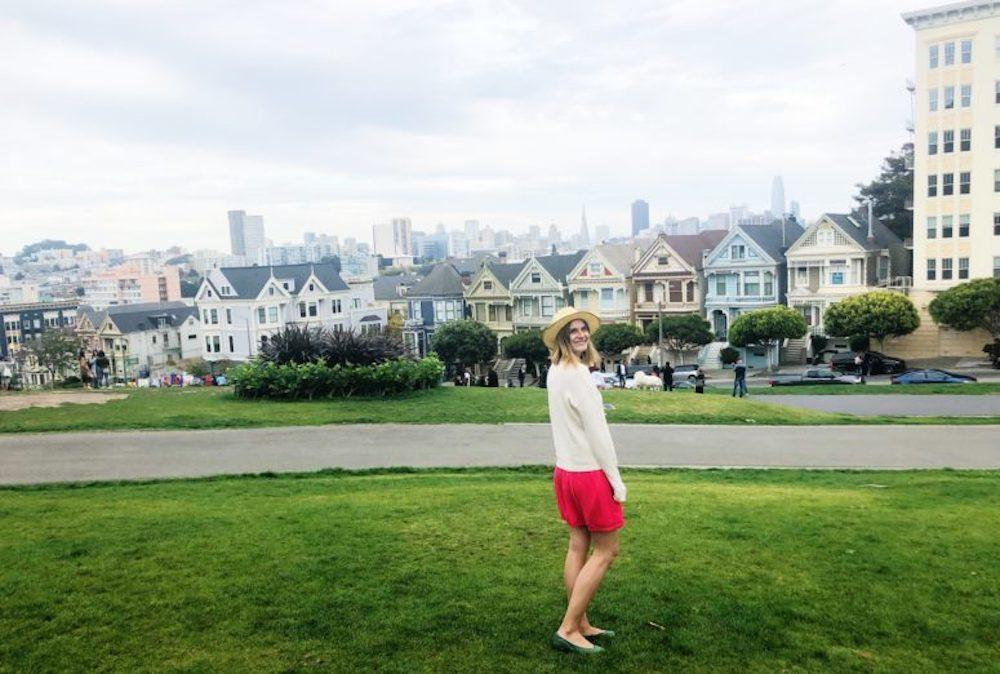 The Painted Ladies in San Francisco, a must see during your weekend in San Francisco