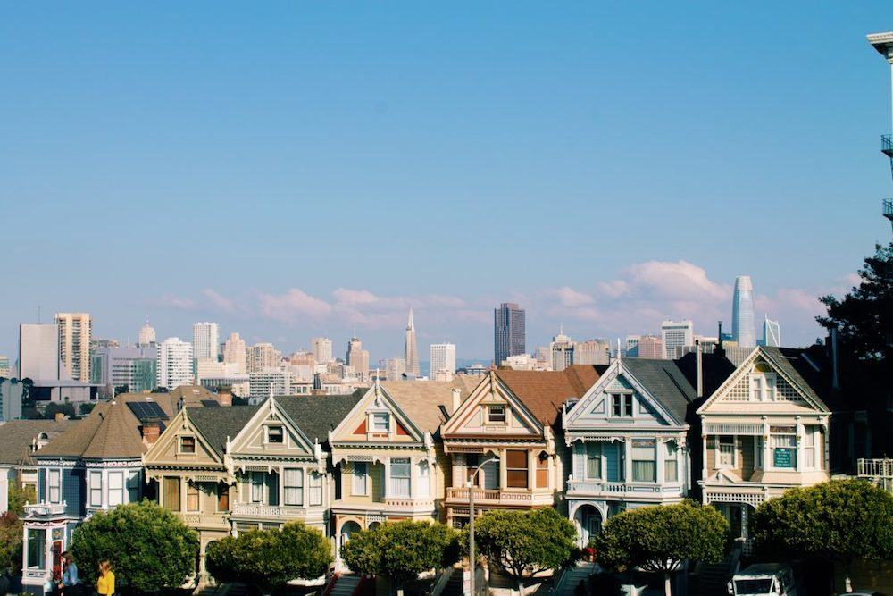 The iconic Painted Ladies of San Francisco, USA