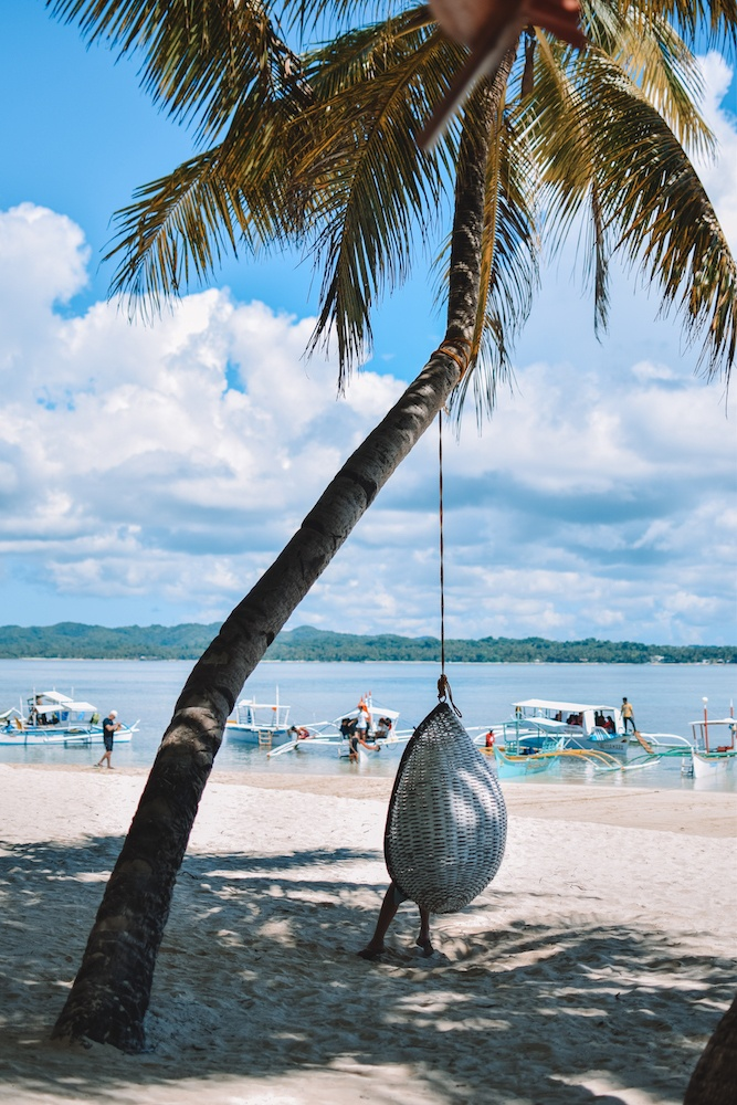 Chill island beach vibes in Guyam Island