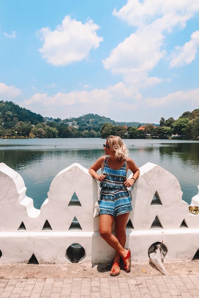 Exploring the streets and lakeside walks of Kandy, Sri Lanka