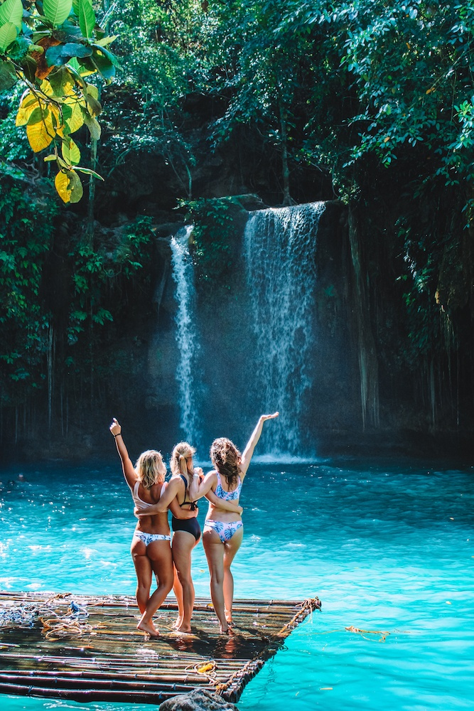 Exploring Kawasan Falls in Cebu, Philippines