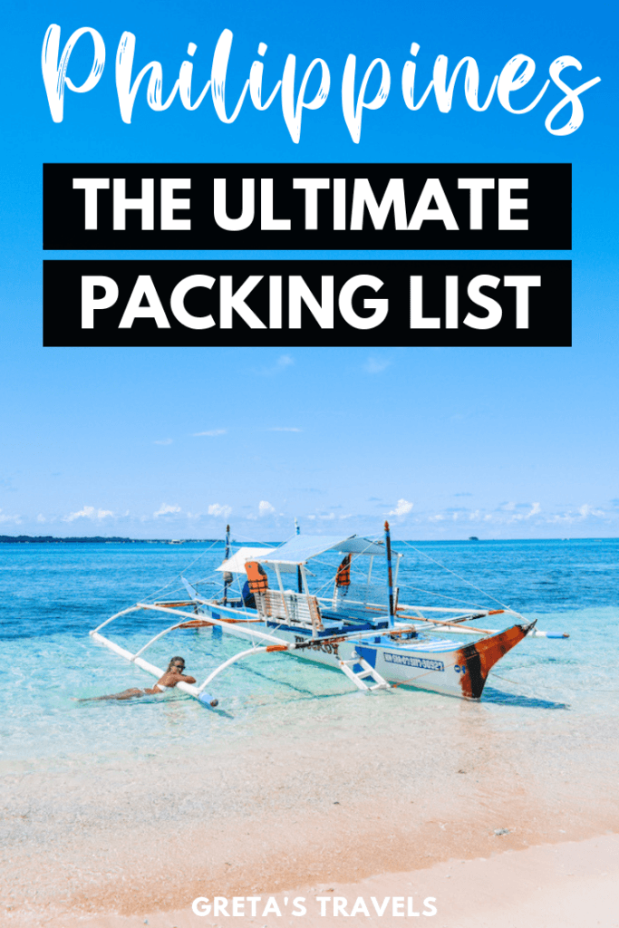 Planning a trip to the Philippines but not sure what to pack? This Philippines packing list covers it all! In this guide we have covered everything you might possibly need in the Philippines, from suggestions on what to wear, useful accessories and more. Come discover what to pack for the Philippines! #philippines #asia #philippinestraveltips #philippinespackinglist #packinglist #packingadvice #asiatraveltips
