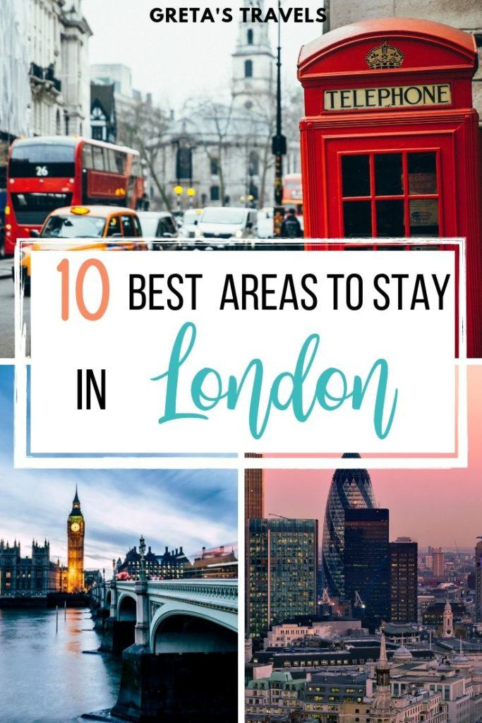 Planning a trip to London but not sure where to stay? This London neighbourhood guide (written by a Londoner) covers it all! I listed all the best areas to stay in London and for whom, whatever type of traveller you are or whatever type of holiday you're looking for, there's a place for you to stay in London. #london #england #londontraveltips #traveltips #wheretostayinlondon #londonaccommodation #londonhotels