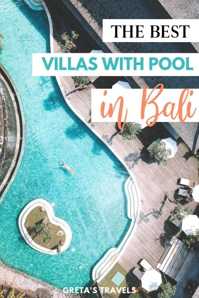 Looking for an awesome place to stay in Bali with a private pool? You just found it. This guide reviews some of the best villas with private pools in Bali, for every budget. Start planning your dream Bali trip! #bali #balitraveltips #balivillas #villawithpool #indonesia #asia #indonesiatraveltips