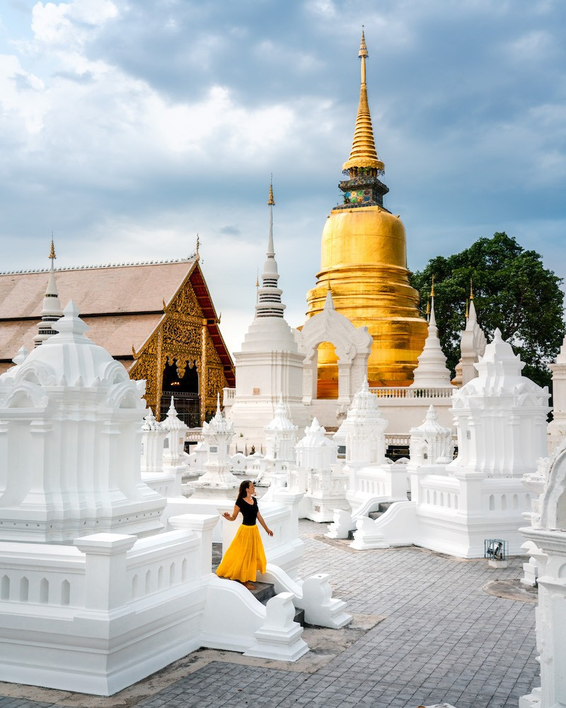 Wat Suan Dok, photo by Travels of Sophie