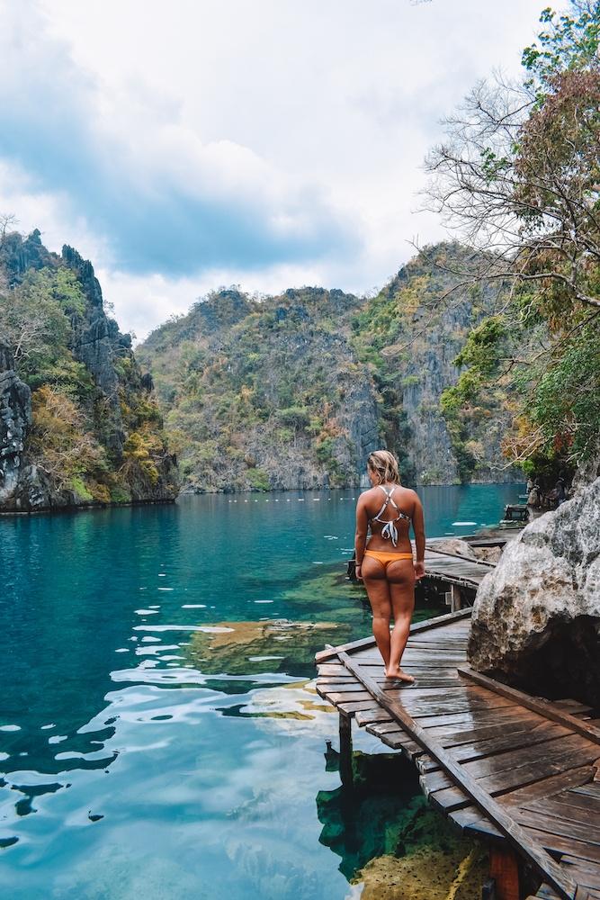 Exploring Kayangan Lake in Coron, Palawan