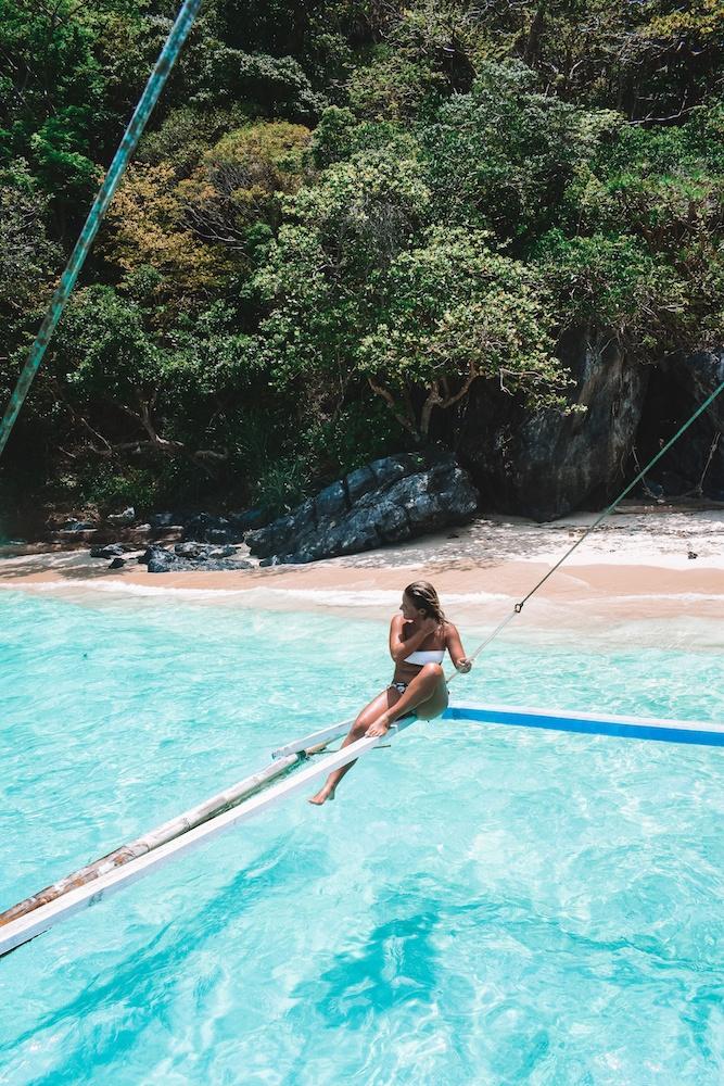 Island hopping in El Nido, Philippines