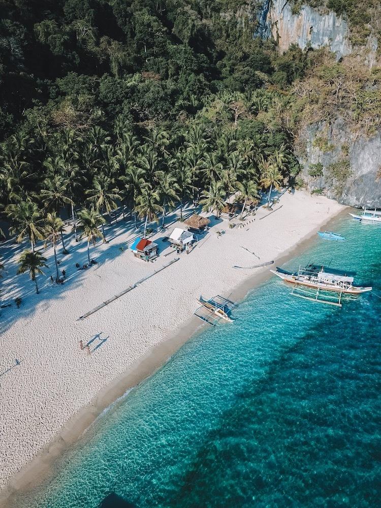 Drone shot of Seven Commandos Beach by my friend @solarpoweredblonde