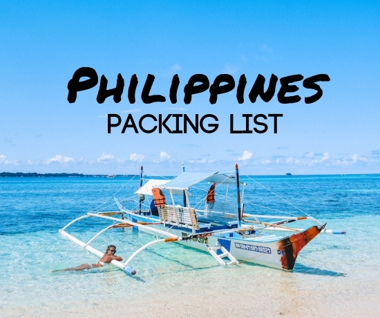 Philippines packing list