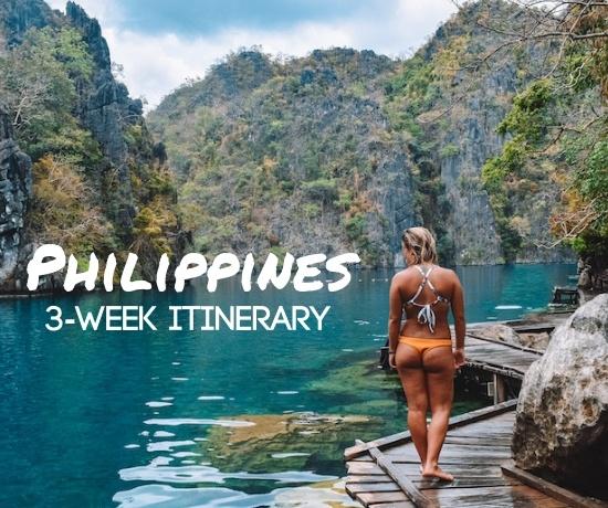 Philippines 3 week itinerary