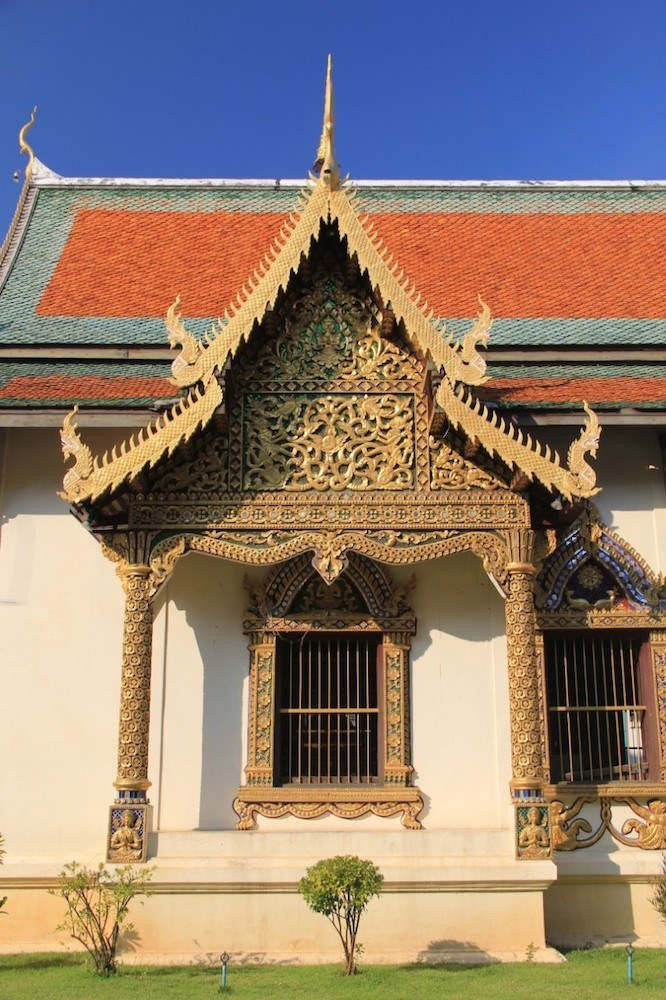 Some of the details at Wat Chiang Man, photo by Gallop Around The Globe