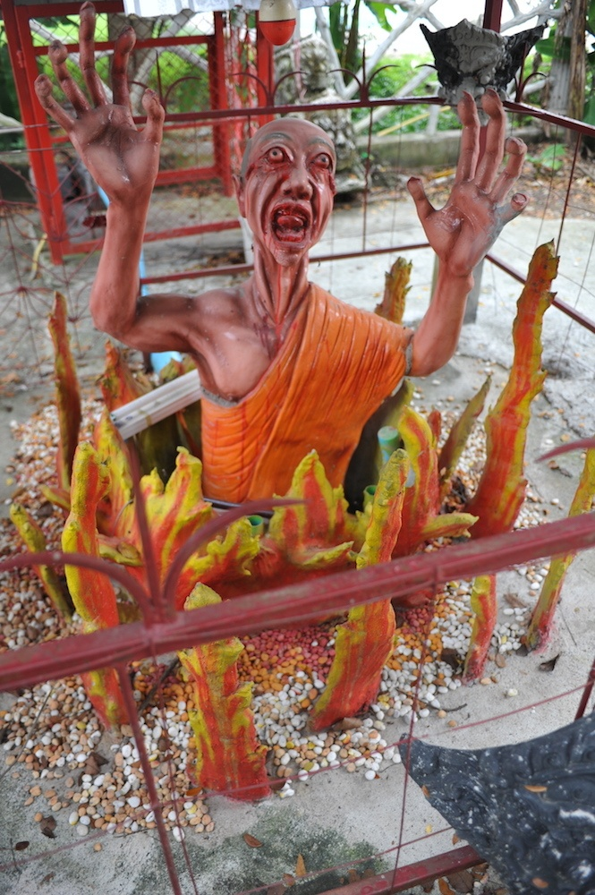 Wat Mae Kaet Noi hell temple, photo by Worthy Go
