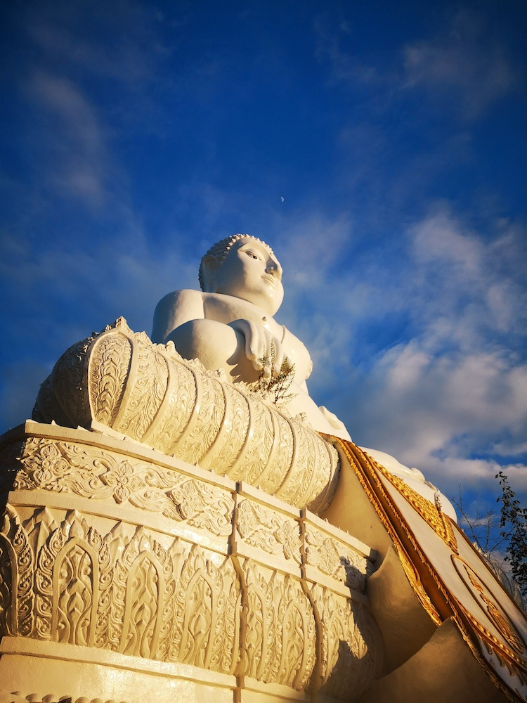 The White Buddha in Pai, photo by What's Danny Doing?