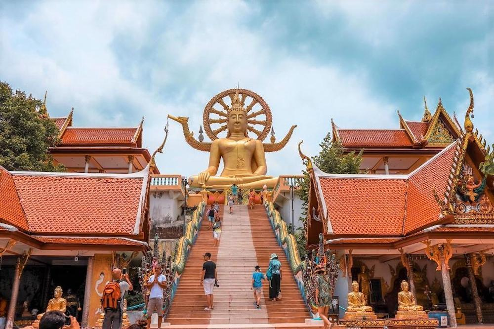 Wat Phra Yai, Big Buddha in Koh Samui, photo by Daily Travel Pill