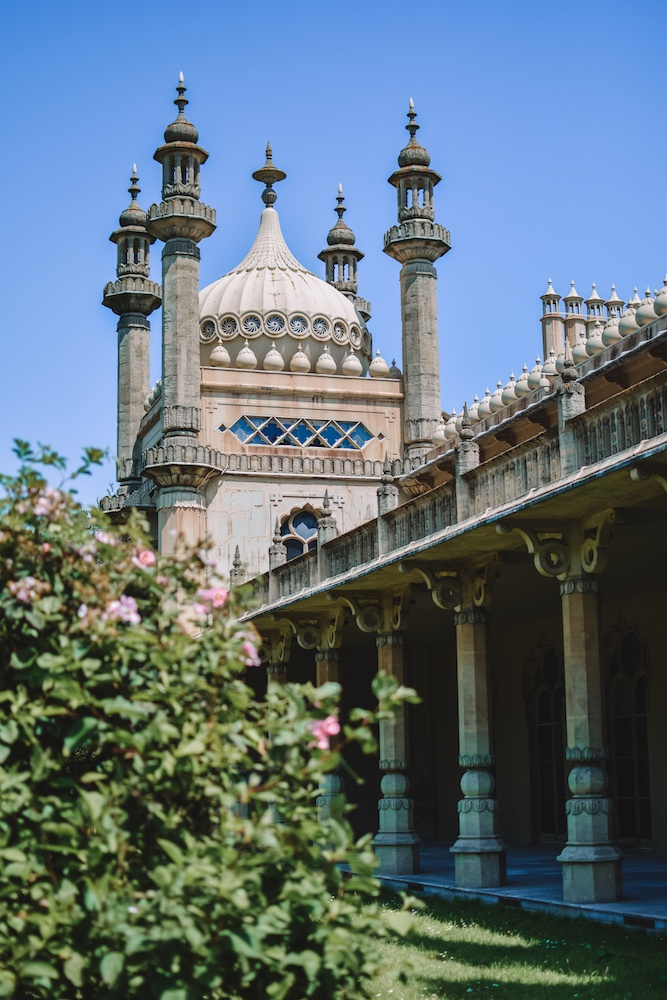The Royal Pavillion in Brighton from outside