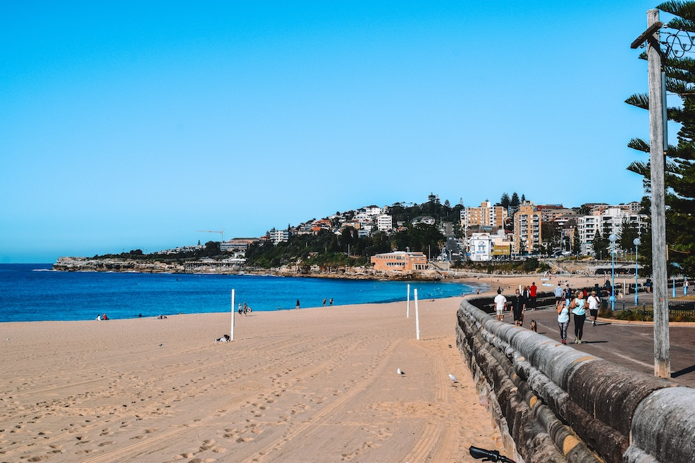 Coogee Beach - the starting point of our Bondi to Coogee coastal walk