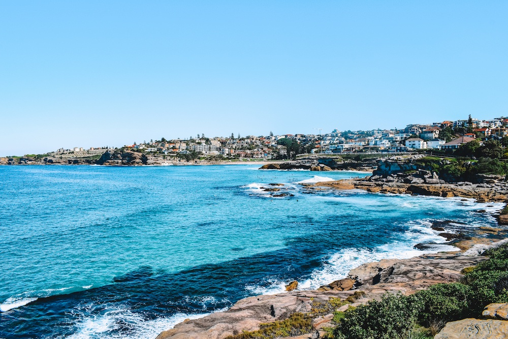 The beautiful coastline that connects Bondi to Coogee in Sydney