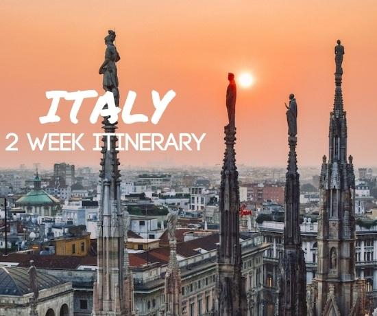 Italy 2 week itinerary