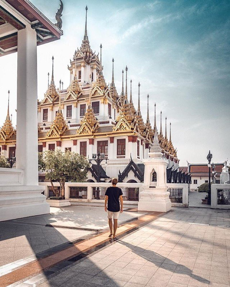 Wat Ratchanatdaram in Bangkok - photo by Alex, author of Swedish Nomad