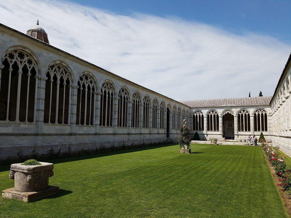 Campo Santo Monumentale in Pisa, Italy