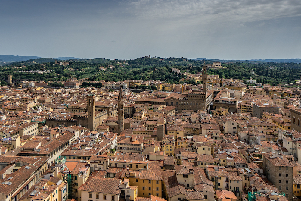 View over the rooftops of Siena, Italy - photo by Roberto Destarac on Scopio