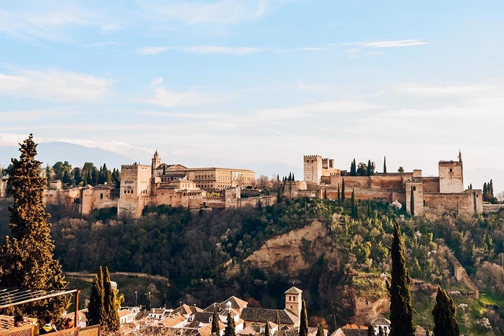 The Alhambra of Granada, photo by The Road Is Life