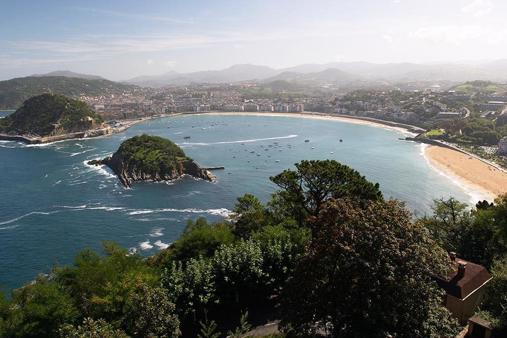 View over San Sebastian, photo by Travel2next