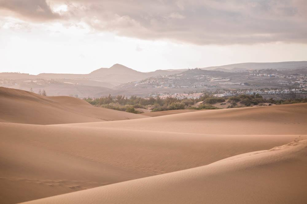 The sand dunes of Gran Canaria, photo by Alajode