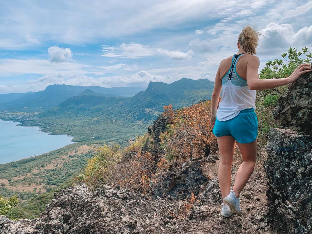 Hiking Le Morne Brabant in Mauritius
