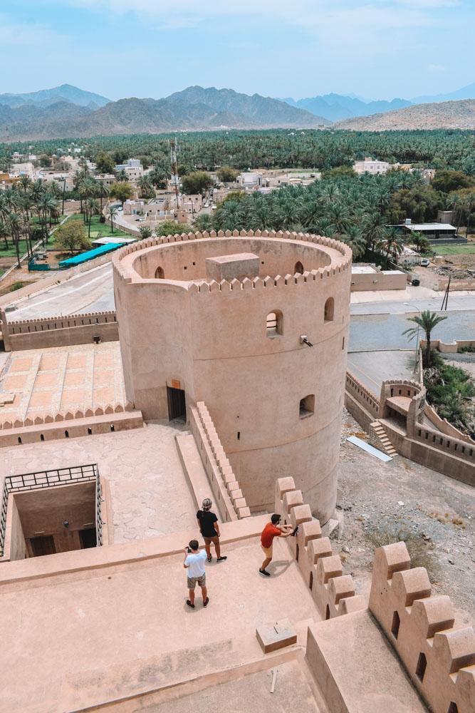 Exploring Al Rustaq fort