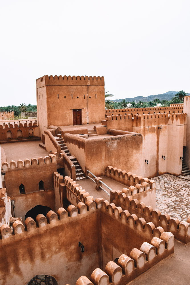 The rooftops of Nizwa Fort