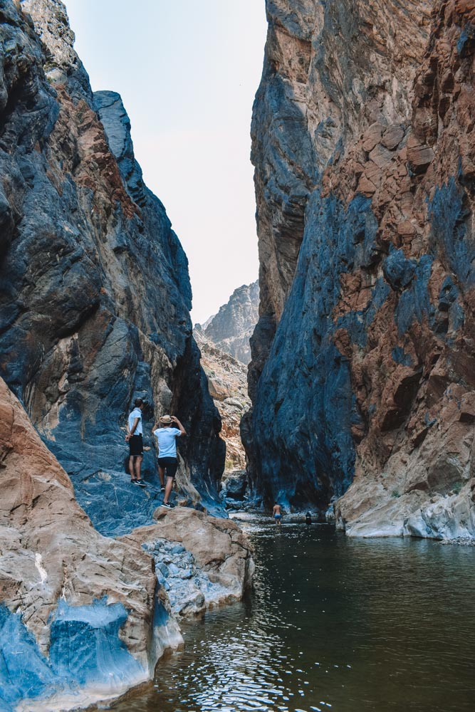 The Snake Gorge Canyon, one of the stops you can do along the Hatt mountain road