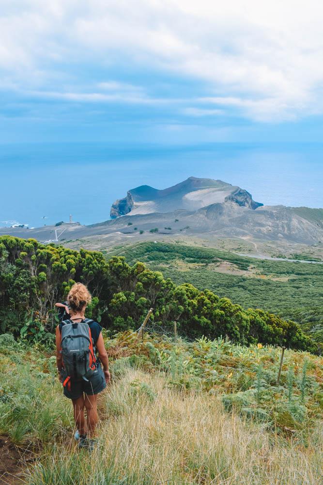 Hiking Cabeco do Canto on Faial Island