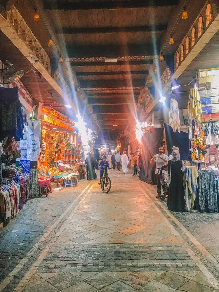 Exploring Mutrah souq in Muscat