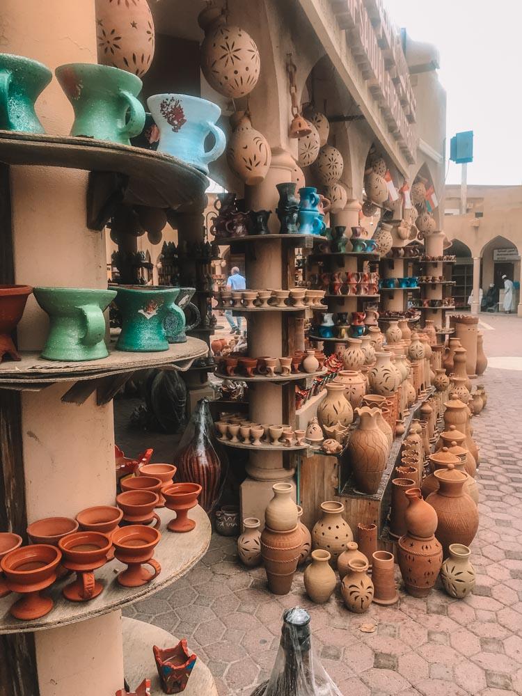 Exploring the souq in Nizwa