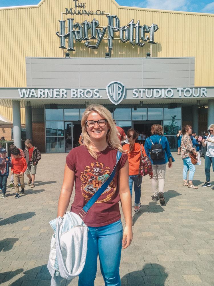 Me in 2015 visiting the Harry Potter Warner Bros Studios